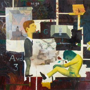 Sing Sing, Sing-A-Long Song, 2008-2010. Oil on canvas, 155 x 200 cm.